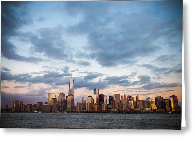 Soft City Greeting Card by Kristopher Schoenleber