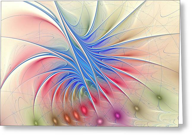 Soft Colors Greeting Card by Anastasiya Malakhova