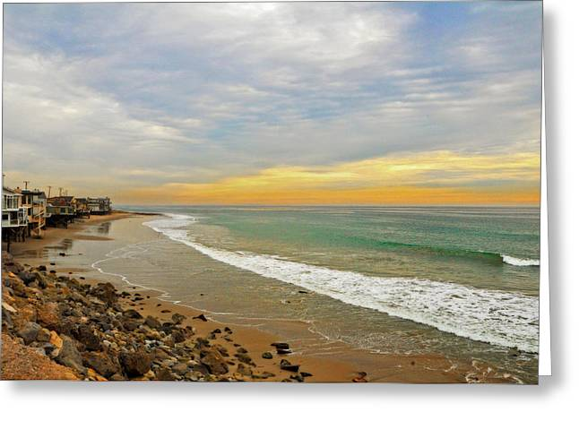 Soft Colors On The Coast Greeting Card by Lynn Bauer
