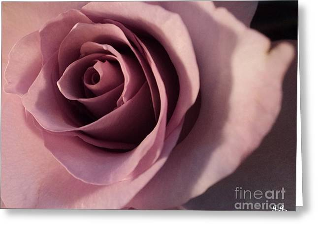 Greeting Card featuring the photograph Soft Layers by Geri Glavis