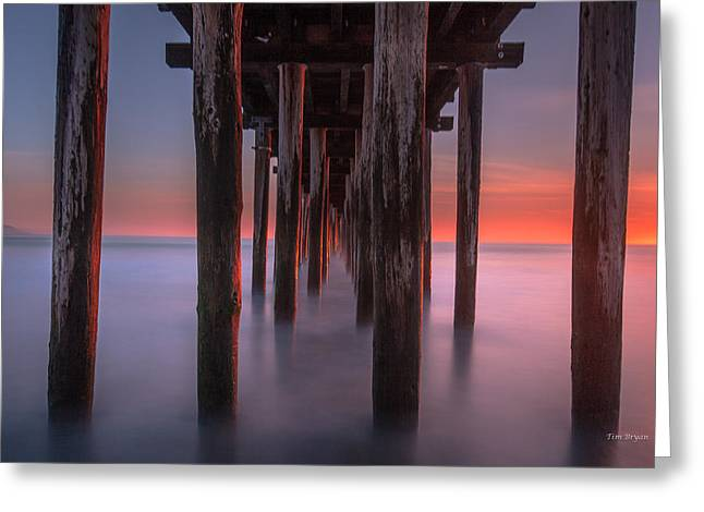 Soft Light From Starboard Greeting Card by Tim Bryan
