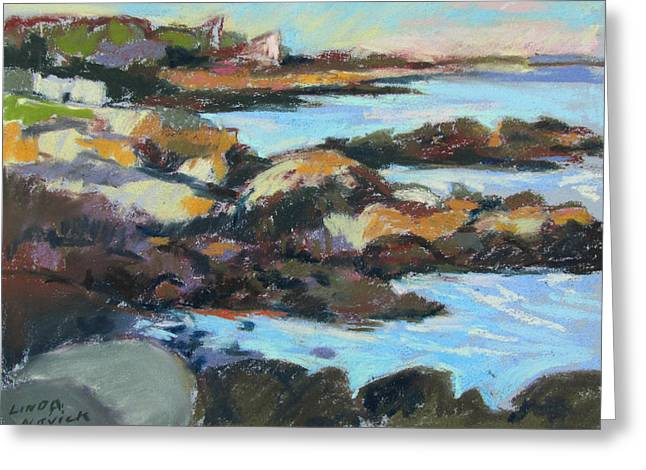 Soft Rocks At Kennebunkport Greeting Card