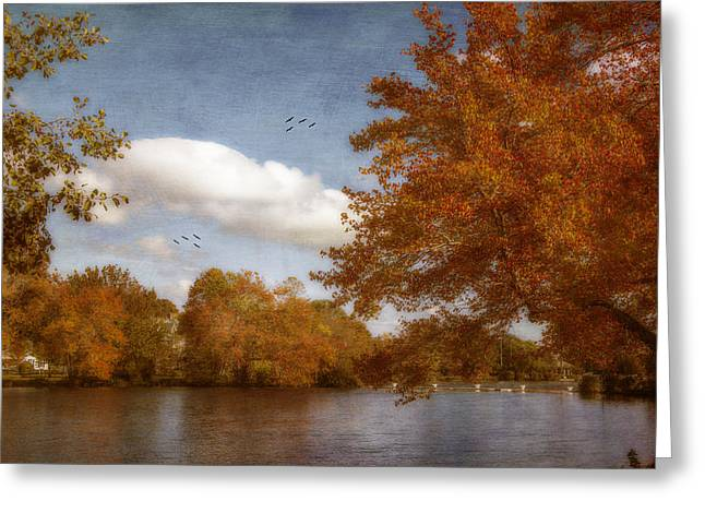 Softly Autumn Greeting Card
