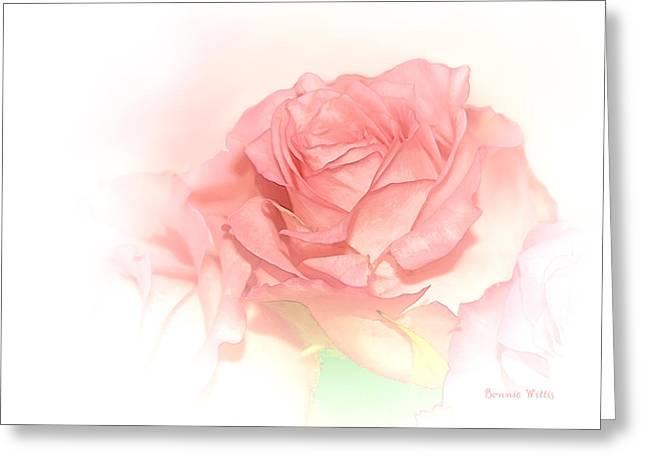 Softly Pink Greeting Card