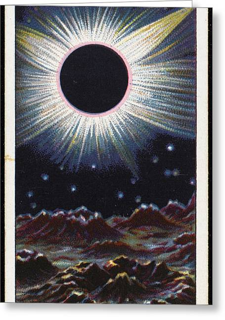 Solar Eclipse By The Earth, Observed Greeting Card