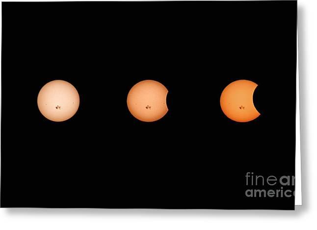 Solar Eclipse Progression Greeting Card
