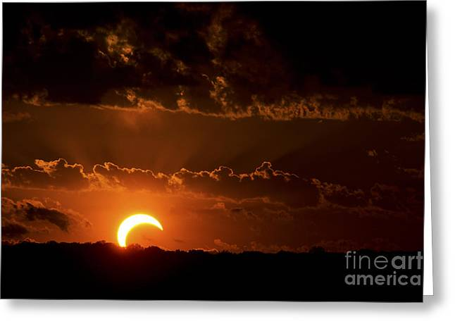 Solar Eclipse Greeting Card