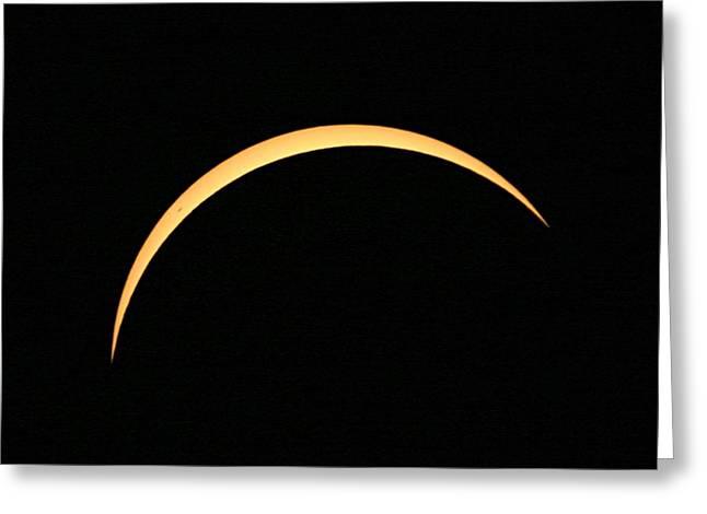 Solar Eclipse Greeting Card by Babak Tafreshi