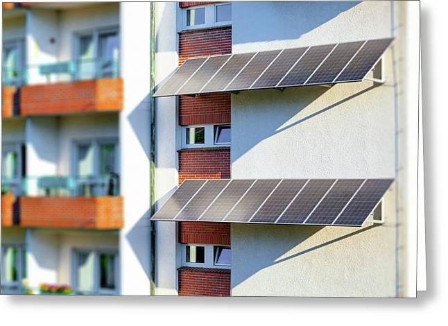 Solar Panels Greeting Card by Wladimir Bulgar