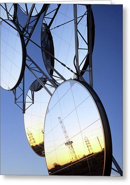 Solar Test And Research Facility Greeting Card