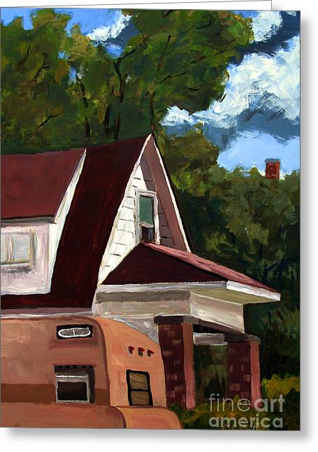 Sold E.hopper's Camper Greeting Card by Charlie Spear