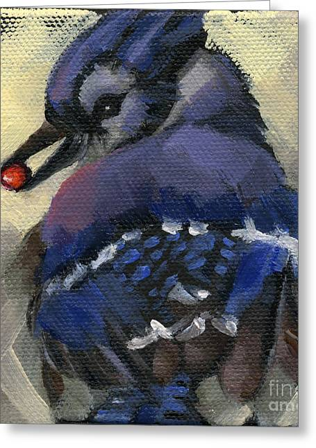 Sold - Finder's Keepers Greeting Card by Nancy  Parsons