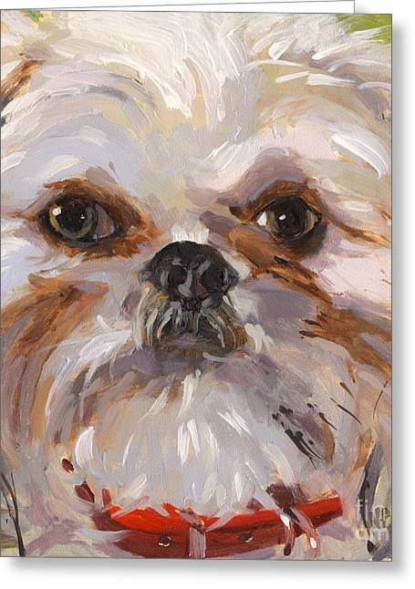 Sold I'll Be Your Best Friend Greeting Card by Nancy  Parsons