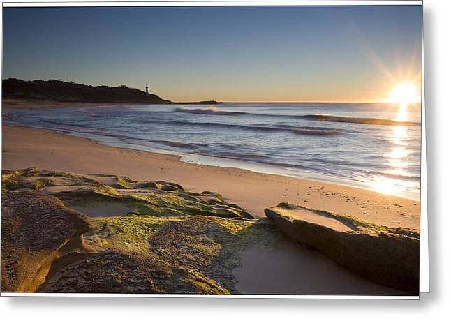Soldiers Beach Greeting Card by Steve Caldwell