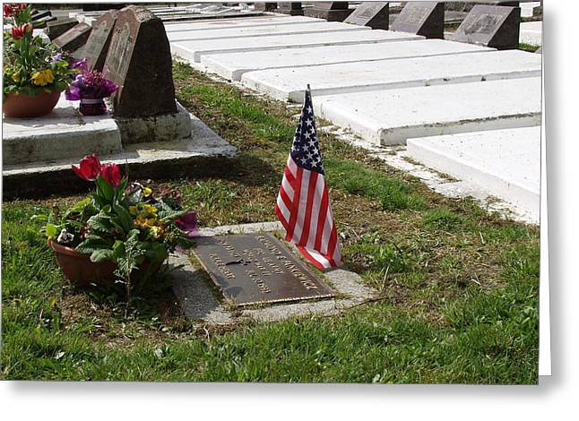 Soldiers Final Resting Place Greeting Card