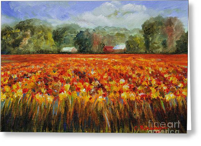 Solebury Autumn Greeting Card by Cindy Roesinger