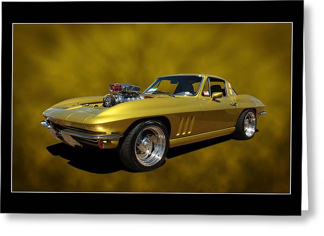 Greeting Card featuring the photograph Solid Gold by Keith Hawley