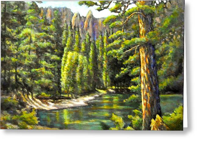 Solitary Place 1 Greeting Card by Eileen  Fong