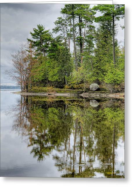 Solitude At Pinheys Point Ontario Greeting Card