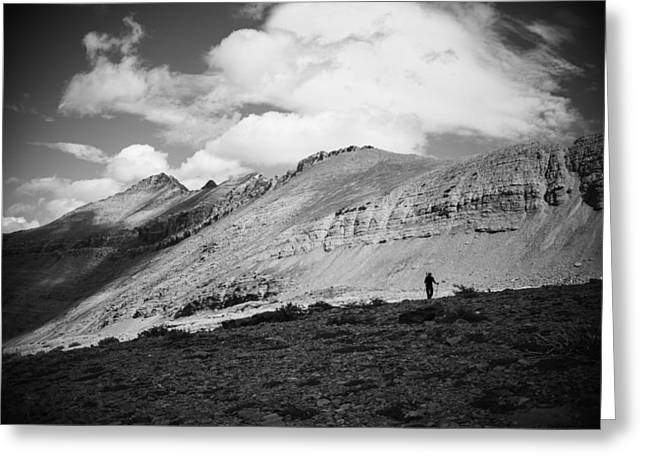 Solitude Below Sperry Glacier Greeting Card