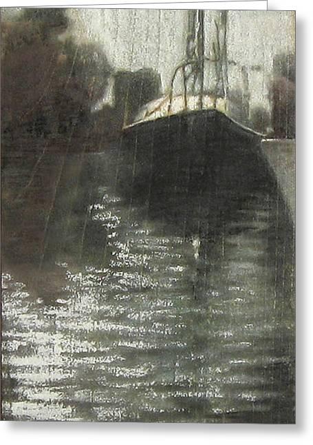 Solitude - Artwork By Calvin La Combe Greeting Card