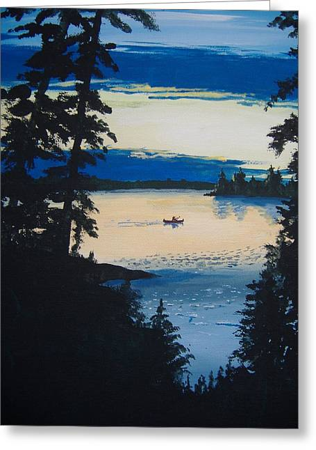 Solitude Greeting Card by Norm Starks