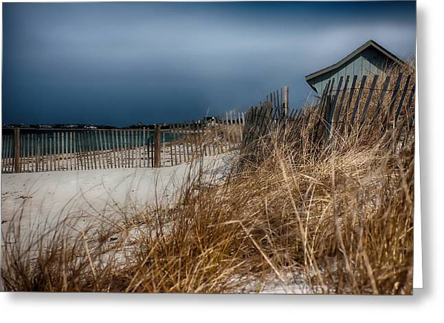 Solitude On The Cape Greeting Card by Jeff Folger