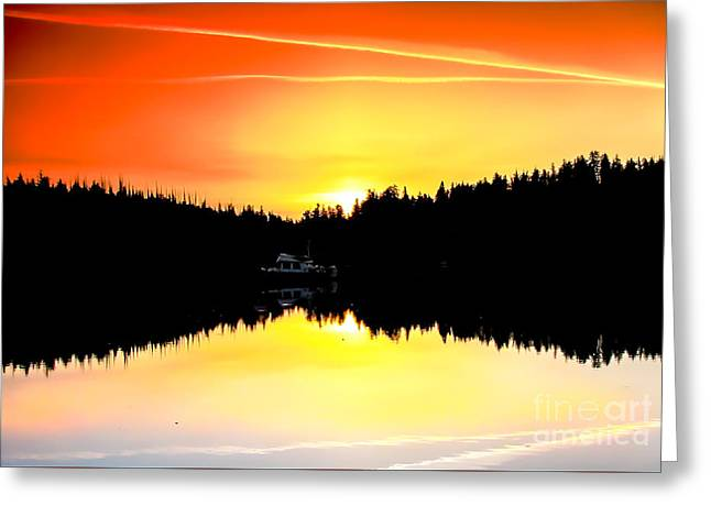 Solitude Greeting Card by Robert Bales