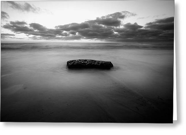Solitude Rock Greeting Card by Peter Tellone