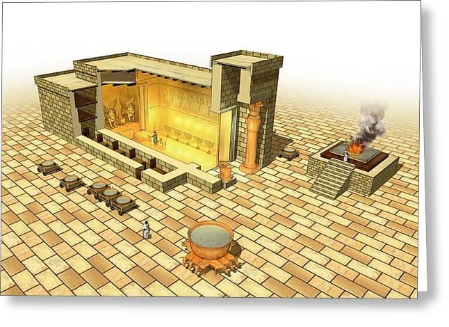 Solomon's Temple, Artwork Greeting Card
