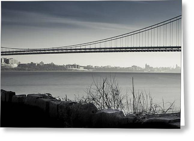 Somber Gwb Greeting Card by Chris Halford
