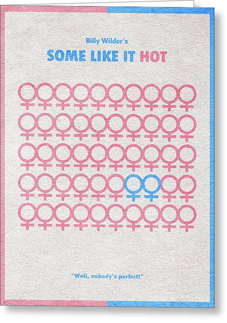 Some Like It Hot Greeting Card by Ayse Deniz