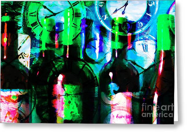 Some Things Get Better With Time P138 Greeting Card by Wingsdomain Art and Photography