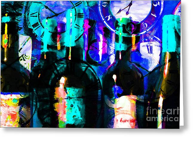 Some Things Get Better With Time P180 Greeting Card by Wingsdomain Art and Photography