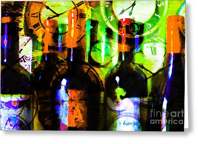 Some Things Get Better With Time P28 Greeting Card by Wingsdomain Art and Photography