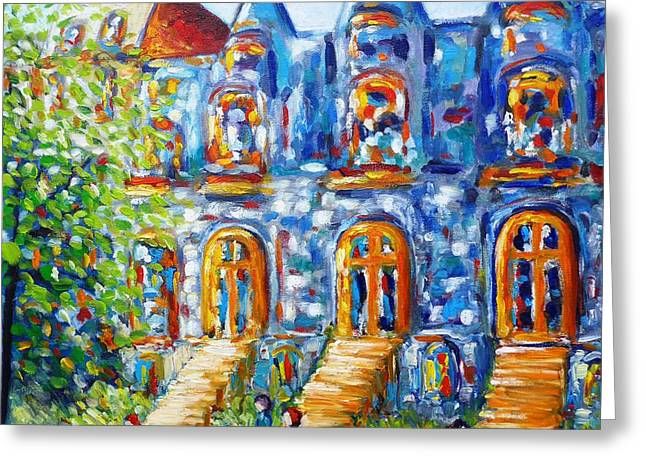 Somewhere In Montreal - Cityscape Greeting Card