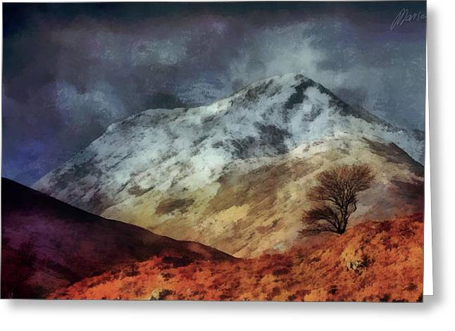 Somewhere In Scotland Greeting Card by Marina Likholat