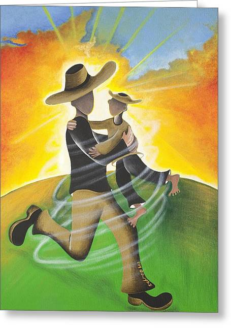 Son Light Greeting Card by Patricia Sabree