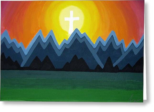 Son rise painting by faytene grasseschi son rise greeting card by faytene grasseschi m4hsunfo Images