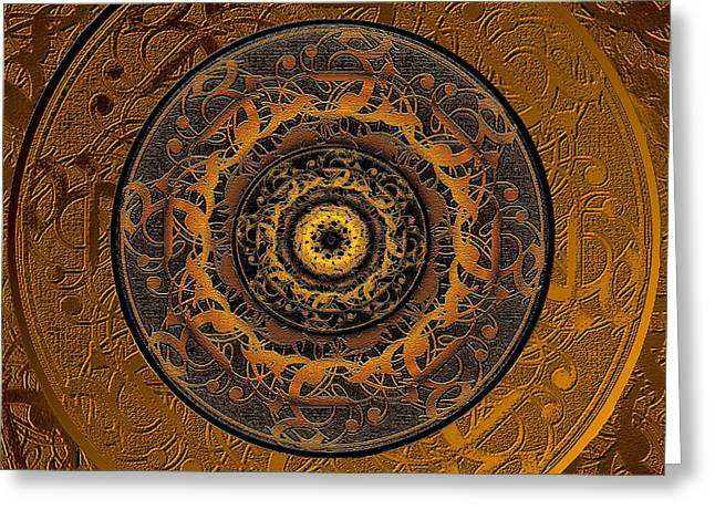 Song Of Heaven Mandala Greeting Card