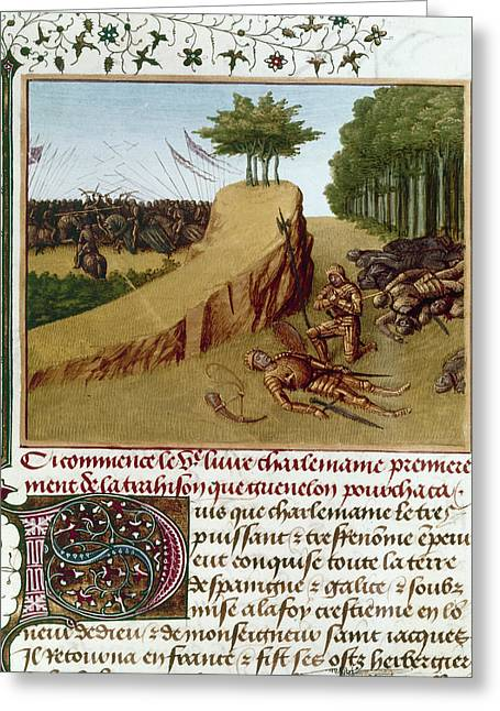 Song Of Roland, 778 Greeting Card by Granger