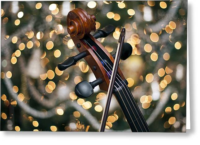 Songs Of Joy Greeting Card by Edward Kreis
