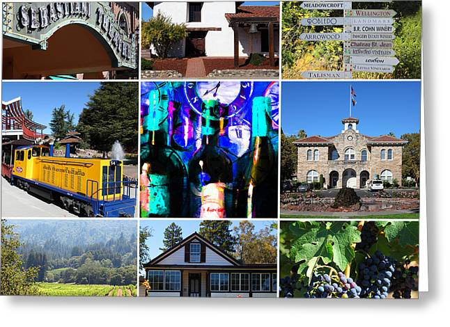 Sonoma County Wine Country 20140906 Greeting Card