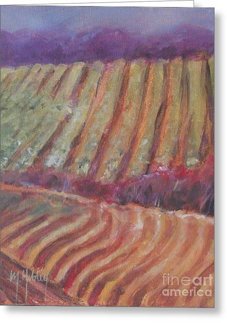Sonoma Vines Greeting Card by Mary Hubley