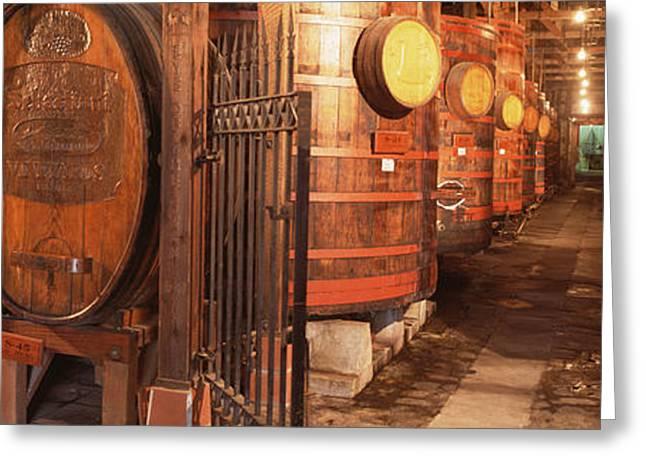 Sonoma Wine Country Sebastinai Wine Greeting Card by Panoramic Images