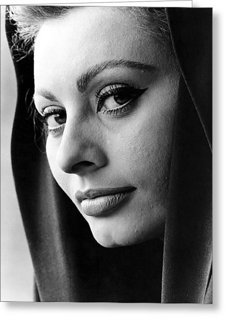Sophia Loren Greeting Card by Studio Release