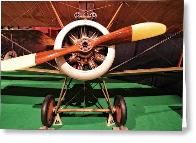 Sopwith Camel Airplane Greeting Card by Dan Sproul