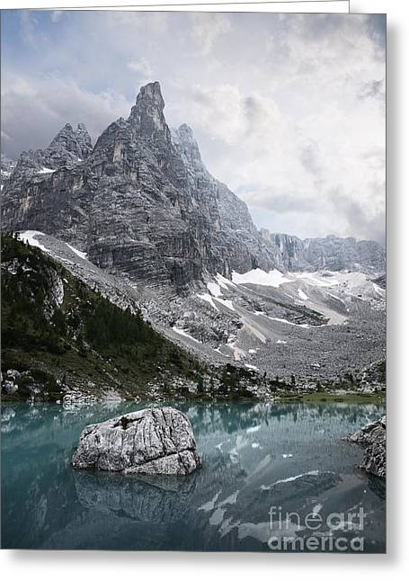 Sorapiss Lake Greeting Card