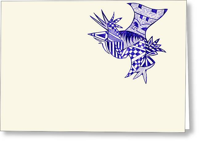 Sore Greeting Card by Leah Chyma