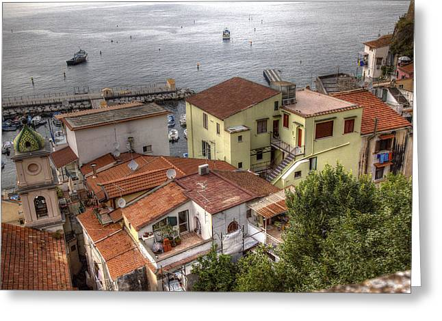 Greeting Card featuring the photograph Sorrento by Uri Baruch